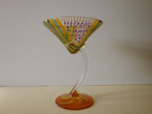 Verre cocktail 15cm haut 12cm diamètre