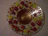 Plat, collection fleurie 33cm