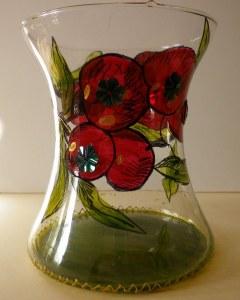 Vase décor floral