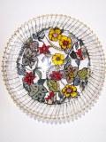 Plateau verre collection printemps 33 cm