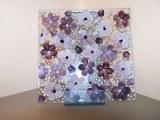 Assiette en verre les floralies du chocolat
